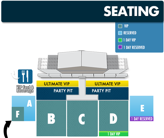 Seating Map Elevate
